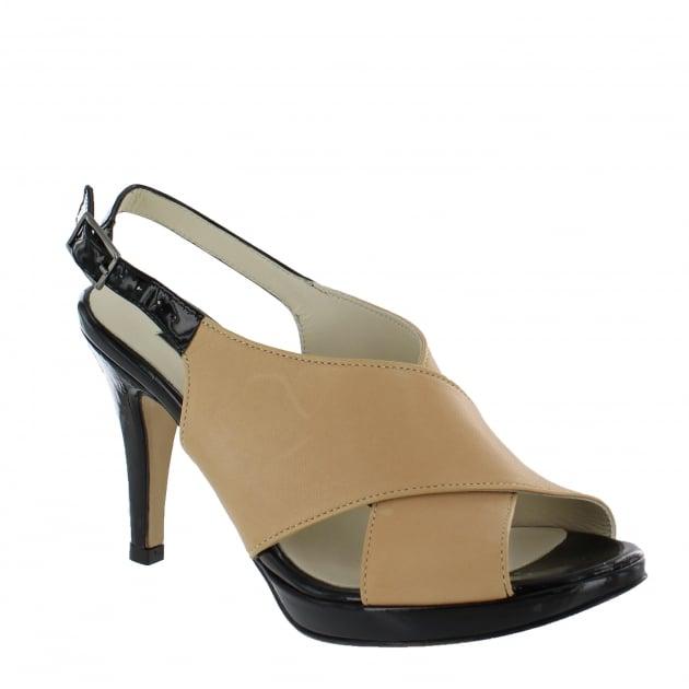 Marta Jonsson Womens X Front Sandal 1511N Nude Sandals