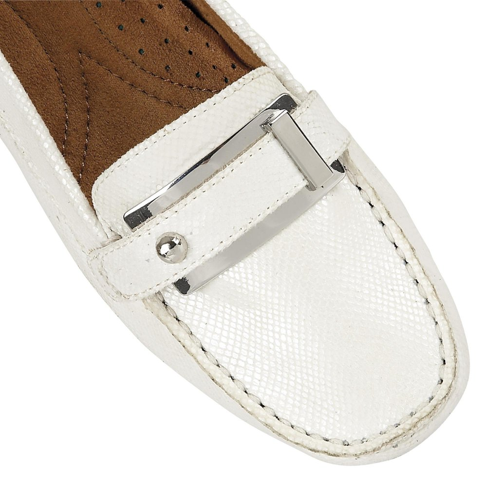 3d371bb9d84 Naturalizer Gisella D2426 Women s White Iguana Shoes - Free Delivery ...