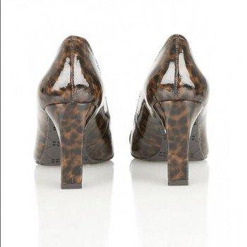 a81515751746 Naturalizer L-Utara Women's Brown Leopard Print Shoes - Free ...