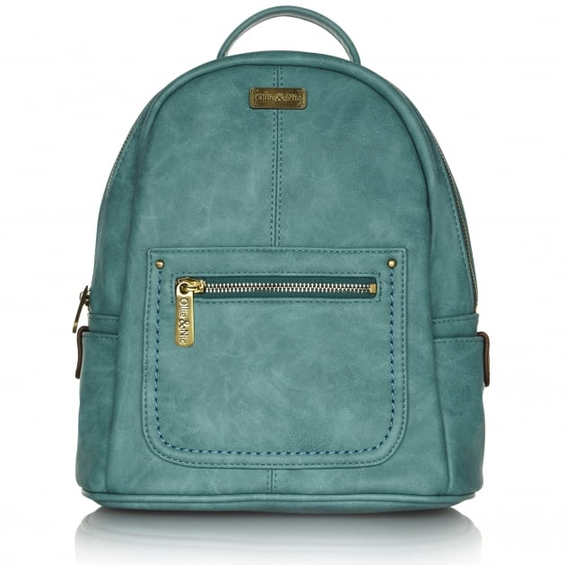 Ollie & Nic Annie Backpack Turquoise