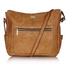 Ollie & Nic Annie Large Hobo Handbag Tan