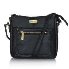 Ollie & Nic Annie Small Hobo Handbag Black