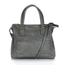 Ollie & Nic Cora Tote Handbag Grey