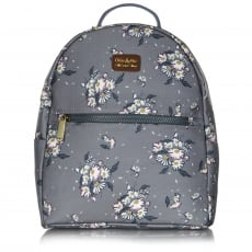 Ollie & Nic Daisy Backpack Grey