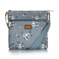 Ollie & Nic Daisy Small Across Body Handbag Grey