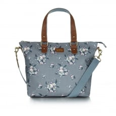 Ollie & Nic Daisy Weekend Tote Grey