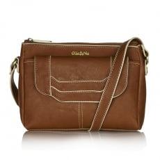 Ollie & Nic Erin Across Body Handbag Tan
