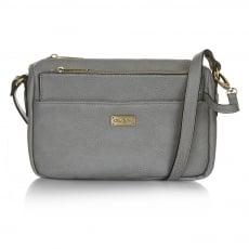 Ollie & Nic Taylor Aross Body Handbag Grey