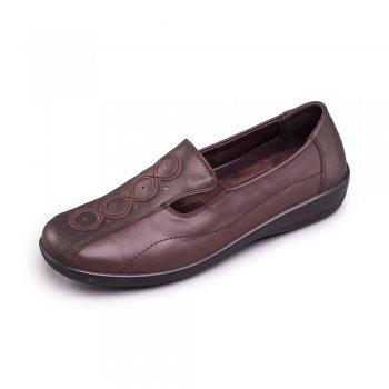 Padders Adora 653 - Ee/Eee Fit Metallic Shoes