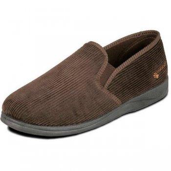 Padders Albert 408 G Fit Brown Slippers