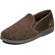 Padders Albert 408 G Fit Brown Slippers