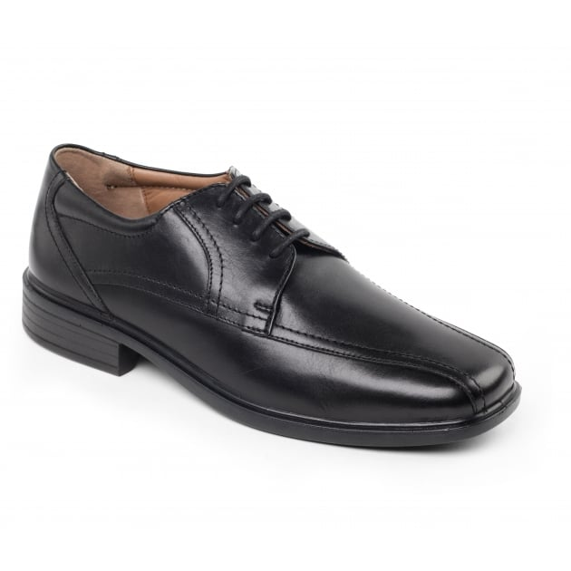 Padders Aston 142 Black Polished Shoes