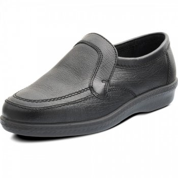 Padders Bruce Black Shoes