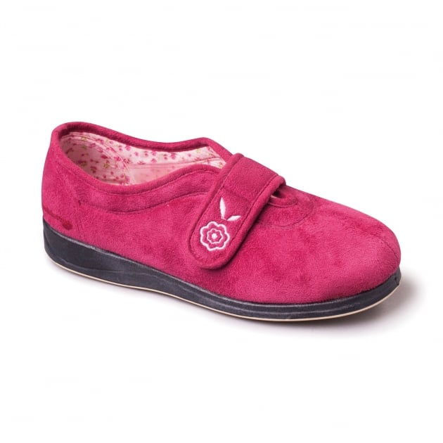 Padders Camilla 447 Cerise Slippers