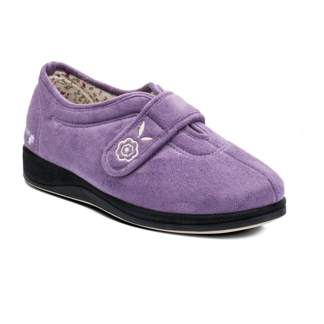 Padders Camilla 447 Lavender Slippers