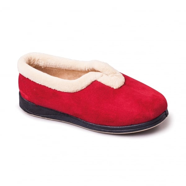 Carmen Red Slippers