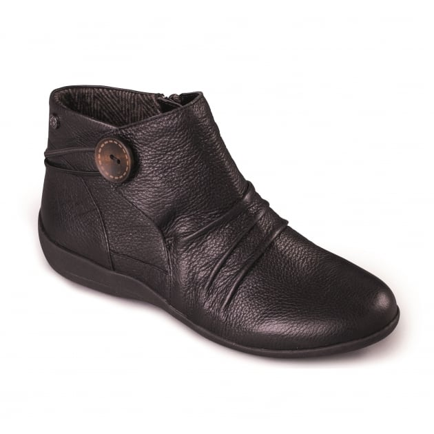 Padders Carnaby 520 - Ee Fit Black Boots
