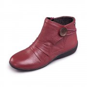 Padders Carnaby 520 - Ee Fit Burgundy Boots