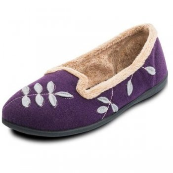 Padders Cheer 468 E Fit Purple Slippers