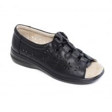 Padders Coast 3 Black Sandals