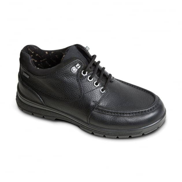 Padders Crest Black Boots