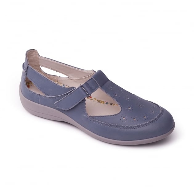 Padders Daisy Denim (Blue) Shoes