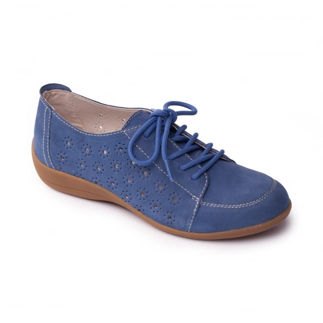 Padders Darcy Denim (Blue) Shoes
