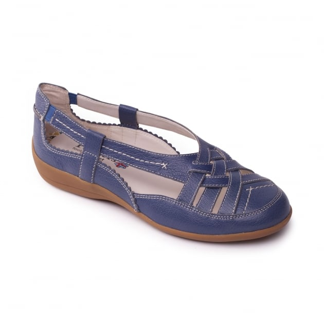 Padders Delta Denim (Blue) Shoes