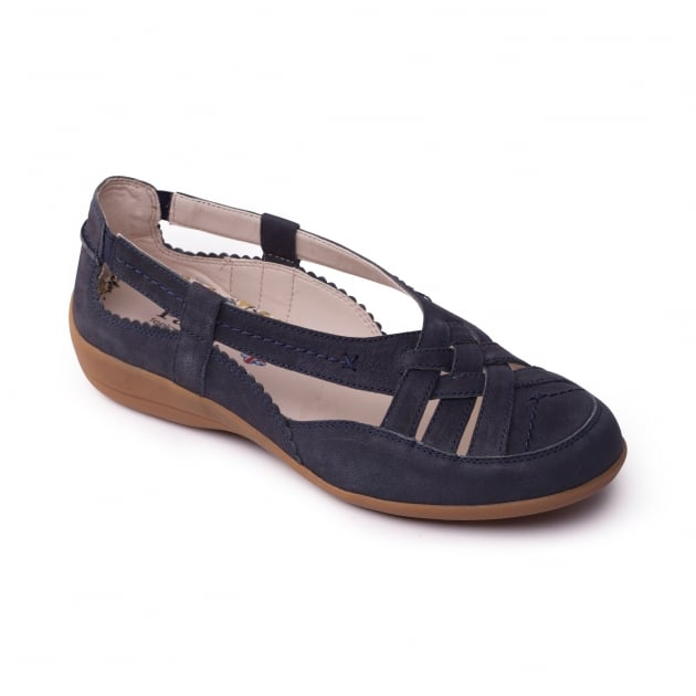 Padders Delta Navy Shoes