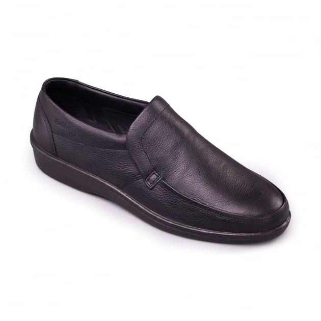 Padders Digger 104N - F Fit Black Shoes