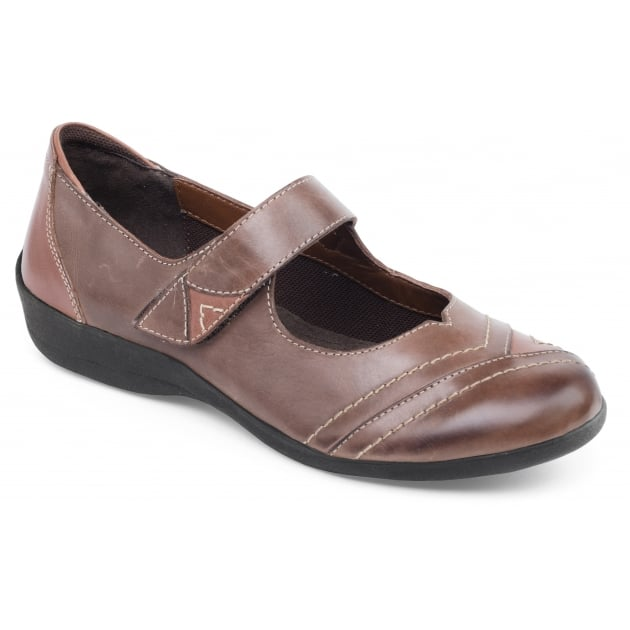 Padders Dwell Brown Combination Shoes