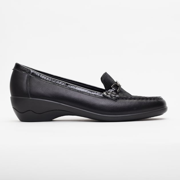 Padders Ellen Black Combination Shoes