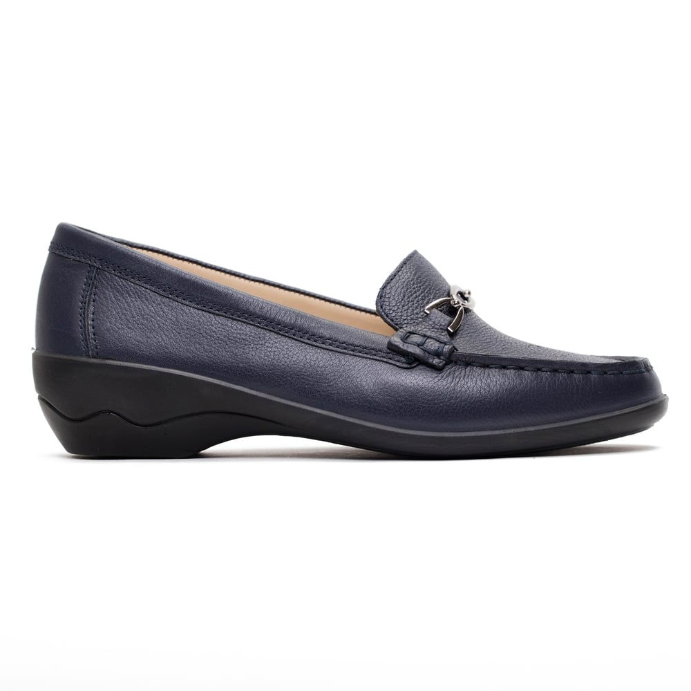 Padders Ellen Womens Navy Shoes