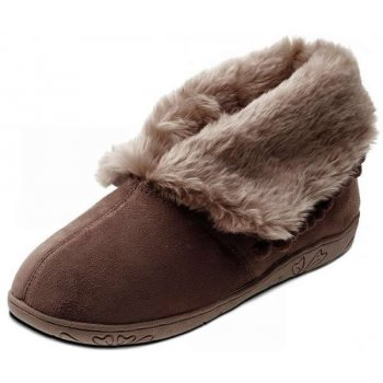 Padders Eskimo 436 Ee Fit Dark Brown Slippers