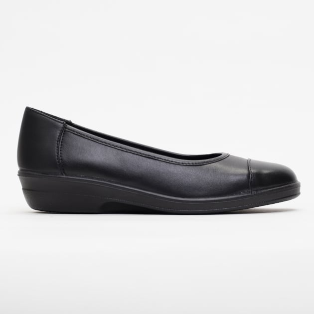 Padders Fearne Black Patent Shoes