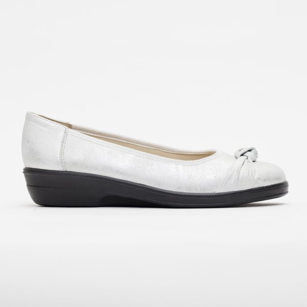 Padders Fiona Silver Shoes