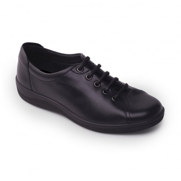 Padders Galaxy 235 Black Shoes