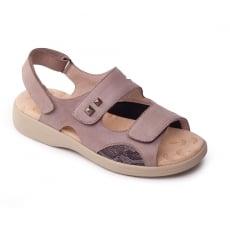 Padders Gem Taupe Sandals