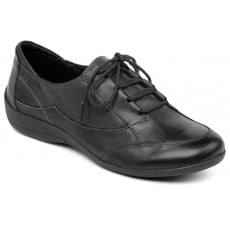 Padders Glade Black Shoes
