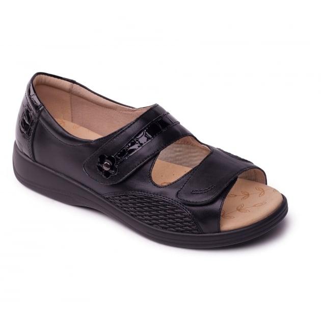 Padders Grace 723 Black Shoes
