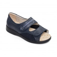 Padders Grace Navy Sandals