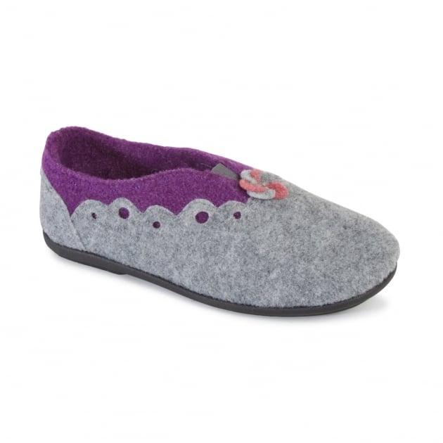 Padders Hannah 4009 Grey Slippers