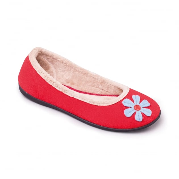 Padders Happy 464 Ee Fit Red 35 Slippers