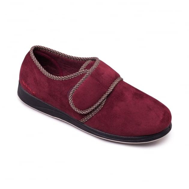Padders Harry 410 Burgundy Slippers