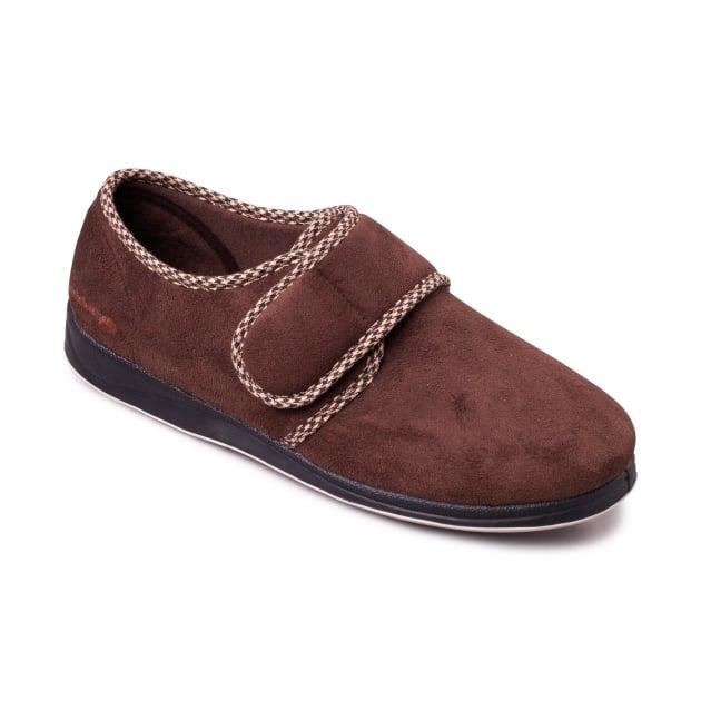 Padders Harry Dark Brown Slippers