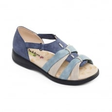 Padders Horizon Blue Combination Sandals