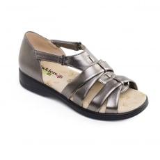 Padders Horizon Pewter Sandals
