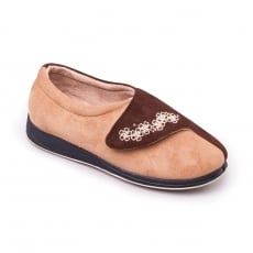 Padders Hug Ee Fit 424 Camel/Brown Slippers