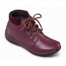 Padders Journey 849 - Eee/Eeee Fit Burgundy Boots