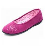 Padders Joy 472 Cerise Slippers